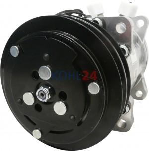 Klimakompressor Deutz-Fahr JCB Massey-Ferguson D45070015 New Holland Valtra Valmet Sanden SD508-5471 SD508-6626 SD508-9285 SD510-9103 SD7H15-7825 SD7H15-8062 12 Volt