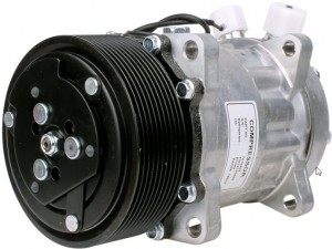 Klimakompressor Case CF60 CF70 CF80 03129547 New Holland 3129547 Sanden SD7H15-8035 12 Volt
