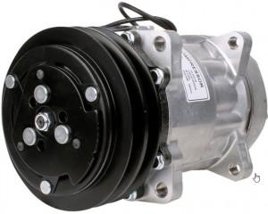 Klimakompressor Case 3405689R2 Hella 8FK351117-021 NRF 32282G Sanden SD7H-4434 SD508-9026 SD508-9268 SD508-9263 12 Volt