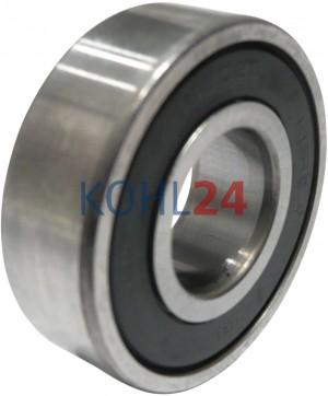 Satz = 2 Stück   Kugellager für LJ/GEH-Serie LJ/GEG-Serie REE-Serie Denso Nikko 6202-2RS1 35x15x11 Bosch 1100900000 1900900303 1900900314 1900905269 2000905000 usw.