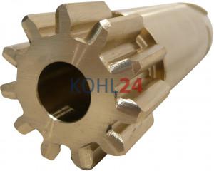 Ritzel für Anlasser der BNG...-Serie BPD...-Serie 000140....-Serie 0001501...-Serie Bosch 2006381558 11 Zähne 3 Splines Bronze