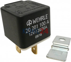 Relais 12 Volt 20 Ampere / 30 Ampere Bosch 0332100011 0332100020 0332200009 0332200013 0332200020 0332204104 0332204183 usw. Wehrle 20201100 20201100A S20201100A