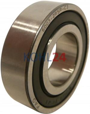 Kugellager Bosch 1900905163 F00M990400 F00M990402 F00M990403 F00M990405 F00M990418 F00M990432 F00M990460 SKF 6003-2RS1 35x17x10 Original FAG