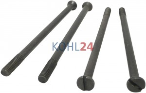 Satz = 4 Stück   Schraube für Anlasser der 00016.....-Serie Bosch 2003426002
