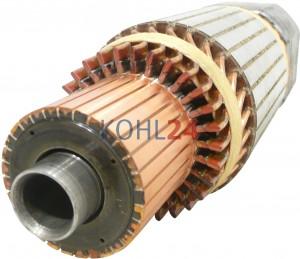 Anker für Anlasser der 0001417...-Serie FKB...-Serie Bosch 2004005023 2004005024 2004005074 24 Volt 6,6 KW Original Bosch