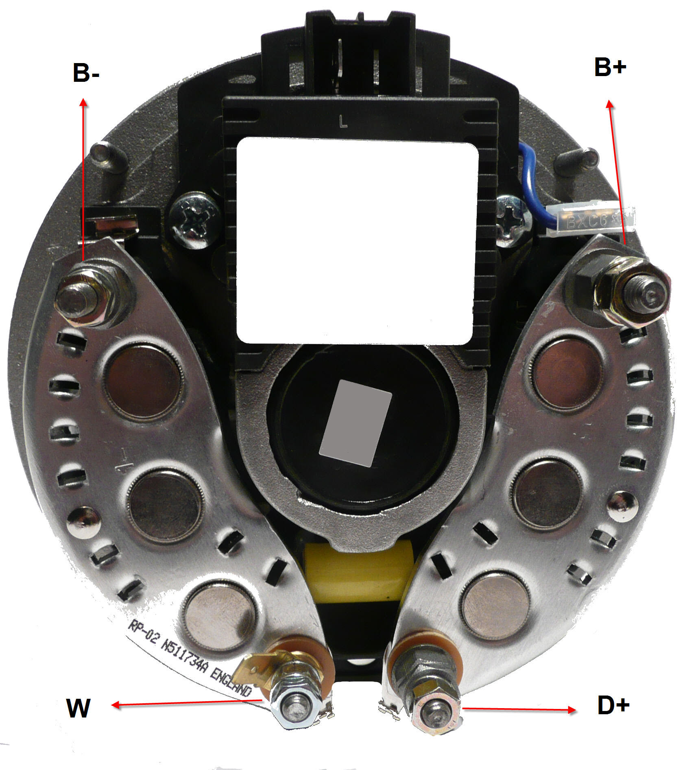 Lichtmaschinenregler Leyland Massey Ferguson Regler