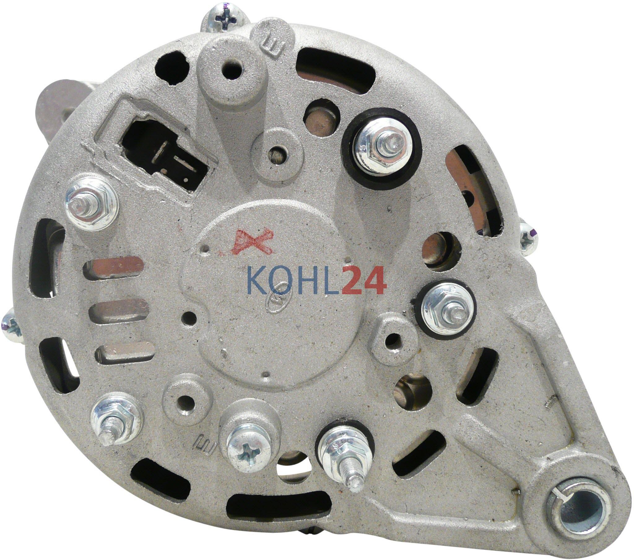 Lichtmaschine Yanmar Motor Marine Hitachi LR155-20 14 Volt 55 Ampere ...