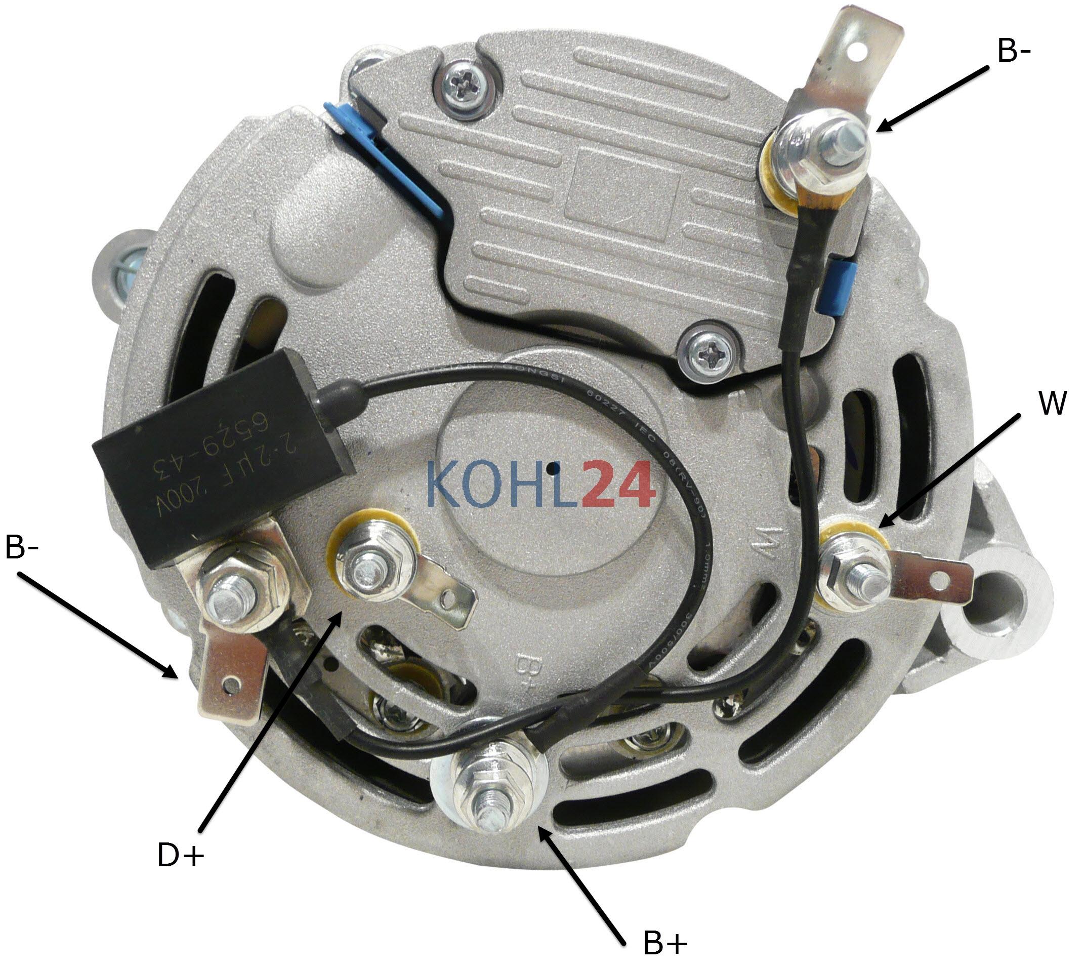 Lichtmaschine Butec CAV 1268520 1268560 1268580 1268650 usw. Cummins ...