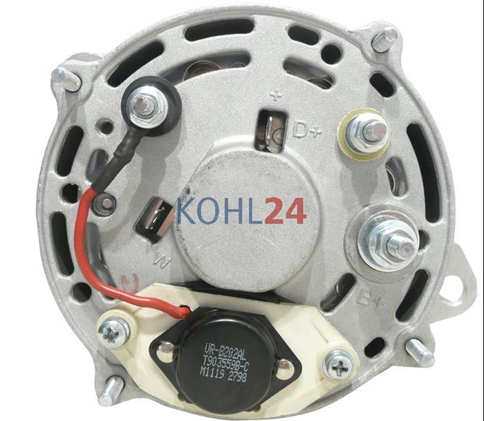 Made in Germany Lichtmaschine für Volvo Penta Bukh Farymann BMW 14 Volt 70 A
