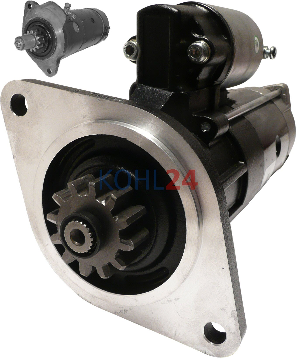 Anlasser Massey-Ferguson Hy-Mac AGCO 12 Volt 2.8 KW-hochwertiger Nachbau