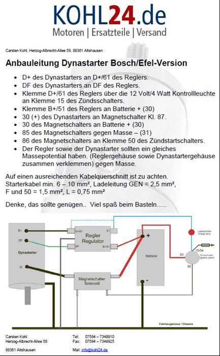 Gleichstromregler / Magnetschalter Bosch 0190208004 0190208012 ...