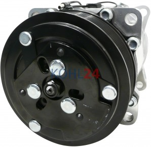 Klimakompressor Case 82016158 Fiat M100 M115 M135 M160 Ford 8160 8260 8360 8560 New Holland 82002069 82008689 Valtra Denso DCP99928 DCP99929 Sanden SD7H15-6022 SD7H15-7890 SD7H15-8028 SD7H15-8230 12 Volt