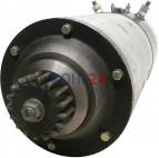 Anlasser BHKW Biogasanlage Jenbacher J620 KHD Deutz MAN MTU MWM-Diesel TBG604BV16 TBG620V16K TCG2020V16K Isotta Fraschini Bosch 0001601007 AL/FTB15/24R6SR 24 Volt 15,0 KW Original Bosch