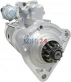 Anlasser BHKW Biogasanlage MAN 51.26201.7266 Mitsubishi M009T86471 M9T86471 24 Volt 7,0 KW Original Mitsubishi