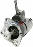 Anlasser Fiat 500 Magneti Marelli 63220107 63220137 B76-0.5/12S 12 Volt 0,5 KW Made in Germany