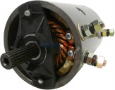 DC-Motor Superwinch 7536 7682 Wapsa 9130450047 Western Motors Bosch 0130450047 Iskra Letrika 11.212.449 11.216.273 AMJ4635 AMJ4761  IM0146 Mahle MM293 Prestolite MRVB4 MRVB5 12 Volt 1,6 KW