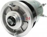 DC-Motor Broc Hydroven Iskra Letrika 11.212.855 AMJ5233 IM0047 Mahle MM232 24 Volt 2,0 KW