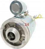 DC-Motor AVI Anteo Hydroven Smoes Iskra 11.212.736 11.218.092 AMJ5196 IM0038 Mahle MM204 24 Volt 2,2 KW Original Iskra Letrika (Mahle)