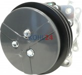 Klimakompressor JCB 240-101251 Hella 351126201 7402209 Sanden 7866 8017 8236 SD7H15-7866  SD7H15-8017  SD7H15-8236 24 Volt