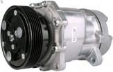 Klimakompressor Audi 1J00820803E 1J00820803F 1J00820803K Ford 1211741 1211742 6573815 XM2H19D629AA Seat 7M0820805B Volkswagen 1J0820803 1J0820805A 1J0820805X 12 Volt
