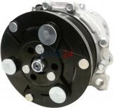 Klimakompressor Sanden 1410 1454 SD6V12-1410 SD6V12-1454 SD6V12-1454E Volkswagen 6N0820803B 6N0820803C 12 Volt