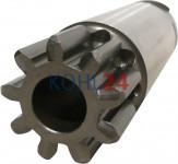 Ritzel für Anlasser der BNG...-Serie BPD...-Serie 000140....-Serie 0001501...-Serie Bosch 2006380010 2006380410 2006380718 9 Zähne 3 Splines Stahl