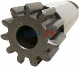 Ritzel für Anlasser der BNG...-Serie BPD...-Serie 000140....-Serie 0001501...-Serie Bosch 2006380558 11 Zähne 3 Splines Stahl