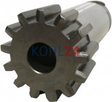 Ritzel für Anlasser der BNG...-Serie BPD...-Serie 000140....-Serie 0001501...-Serie Bosch 2006380450 2006380452 2006380458 2006381450 2006381452 2006381458 DZR2/20Z DZR2L20Z DZR2L22Z DZR2L24Z 13 Zähne 3 Splines Stahl rechtsdrehend