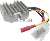 Regler/Gleichrichter Komatsu Takeuchi Yanmar Kokusan-Denki RS5121 14,2 Volt 18 Ampere