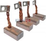 Kohlensatz für Anlasser der EJD...-Serie 0001354...-Serie Bosch 1007014100 12 Volt