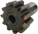 Ritzel Stahl für Anlasser der FKB-Serie mit 11 Zähnen Bosch 2006382174 2006383160 Iskra Letrika 15.100.154