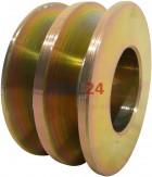 Riemenscheibe 12,5 = 17 x 72,10 x 37,10 Hitachi L150-25002 L155-3500 L155-4500