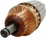 Anker für Anlasser der JD-Serie 0001362...-Serie Bosch 2004004076 2004004091 2004004094 2004004096 2004014053 2004014953 12 Volt 2,7 KW