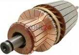 Anker für Anlasser der JD-Serie 0001367...-Serie Bosch 2004004003 2004004005 2004004006 2004004007 2004004010 2004014060 2004014960 2004014961 9001141143 12 Volt 3,0 KW Schnelllaufanker