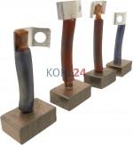Kohlensatz für Anlasser der 0001359...-Serie 0001367...-Serie Bosch 2007014062 12 Volt