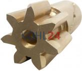 Ritzel für Anlasser BJH1,4/12L3Z7 BJH1,4/12RS19 BJH1,4/12LS19 BJH1,4/12LS23 BJH1,4/12LS25 BJH1,4/12RS104 Bosch DZR48/1X 1006380010 7 Zähne