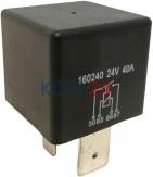 Relais 24 Volt 40 Ampere Bosch 0332019205 Nagares RLAC424 Wehrle 20400111 22400111 22400117A
