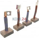 Kohlensatz für Anlasser der 0001231...-Serie 0001360...-Serie 0001364...-Serie 0001368...-Serie Bosch 2007014063 24 Volt
