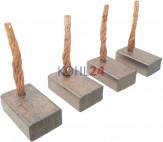 Kohlensatz für Anlasser der 0001358...-Serie 0001359...-Serie 0001362...-Serie Bosch 2007014019 2007014053 12 Volt