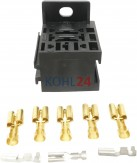 Relaissockelsatz zu Relais E1312 Hella 8JA003525-001 8JA003526-001 8JA003526-002 Valeo F950165U Wehrle 10485008