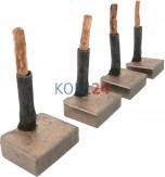 Kohlensatz für Anlasser Denso 21,00 x 8,00 x 25,00 12 / 24 Volt