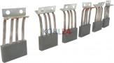 Kohlensatz für Bosch Anlasser der 00016......-Serie Bosch 2007014046 24 Volt
