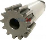 Ritzel für Anlasser der BPD3/12ARS103 BPD6/24ARS103 BPD6/24AR175 0001501...-Serie Bosch 2006380452 DZR2L22Z 13 Zähne Stahl