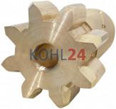 Ritzel für Anlasser der BGC...-Serie Bosch DZR73/6X 8 Zähne rechtsdrehend
