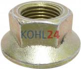 Schraubenmutter für Lichtmaschinen der 0124625...-Serie 0124655...-Serie Bosch 1123314003 1127011100 F00M990059 F00M990085